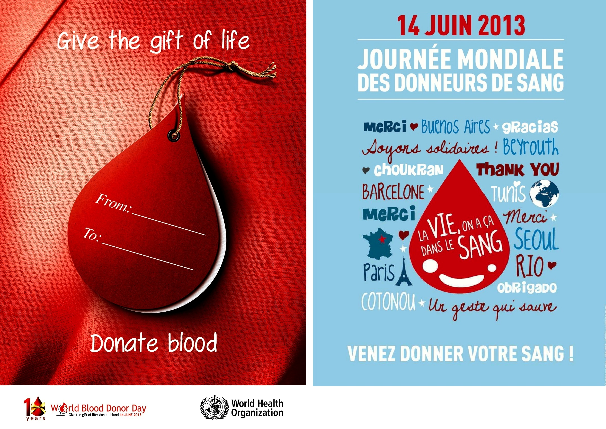 despite cancer beyond cancer stories of strength and struggles the focus for the 2013 campaign the 10th anniversary of world blood donor day is blood donation as a gift that saves lives who encourages all countries